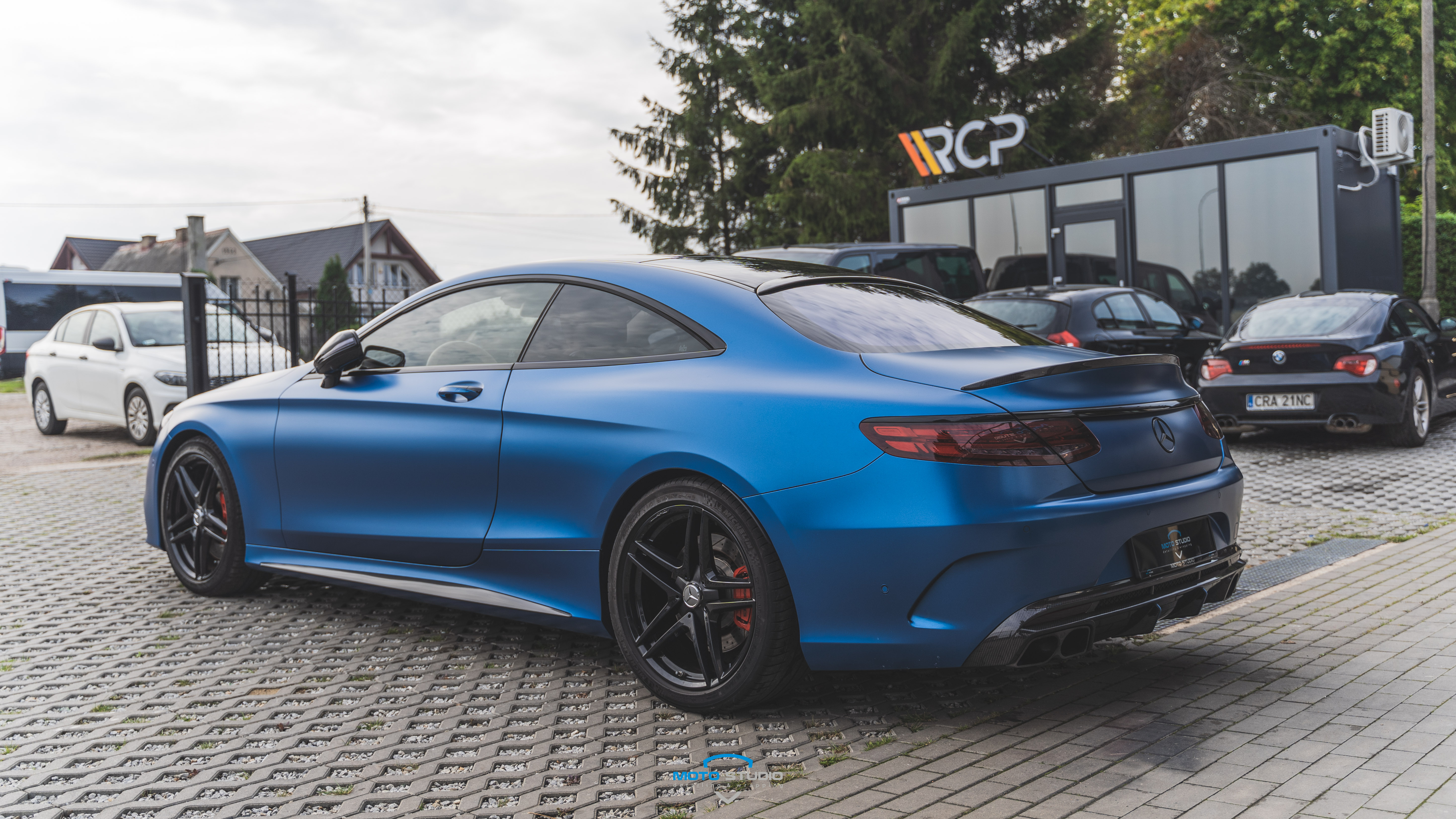 Mercedes S COUPE 63 AMG by BRABUS