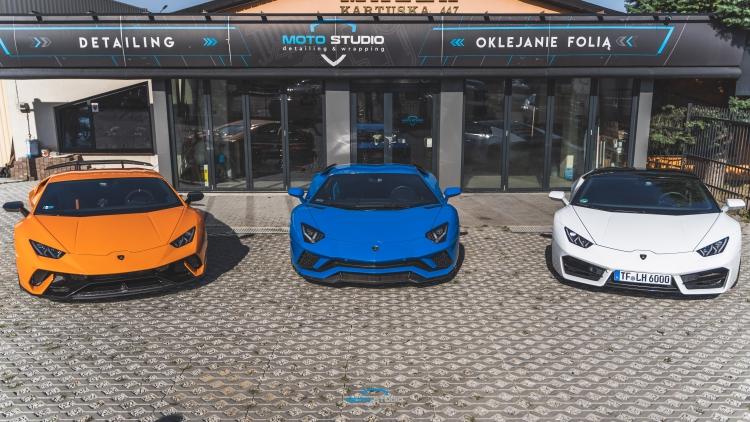 Lamborghini Huracan Performante, Aventador S, Huracan
