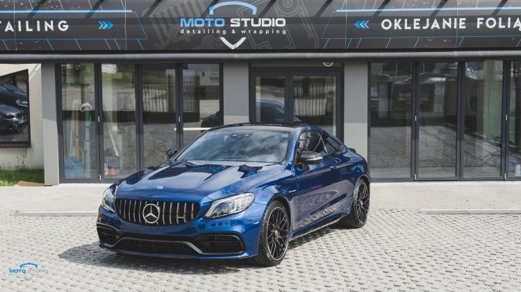 C63s Coupe Brilliant Blue